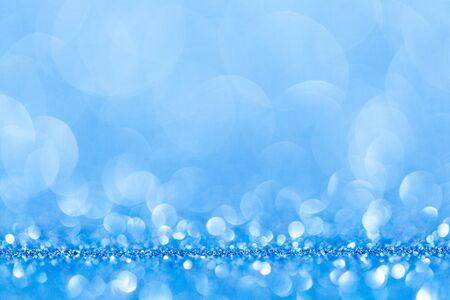 studio shot: blue bokeh abstract light backgrounds. studio shot Stock Photo
