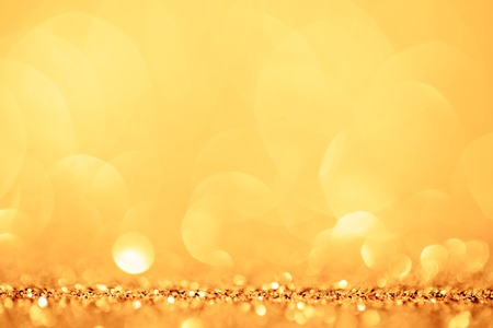 festivity: golden and yellow circle background.
