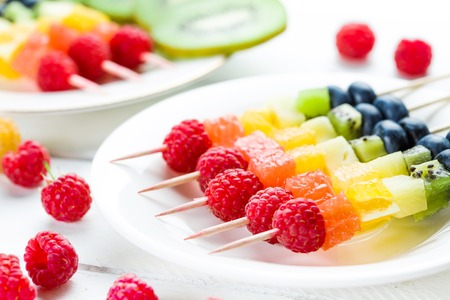 Mixed fruits and berries Stock Photo