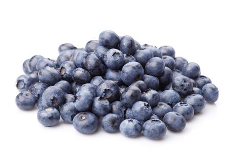 Group of fresh juisy blueberries