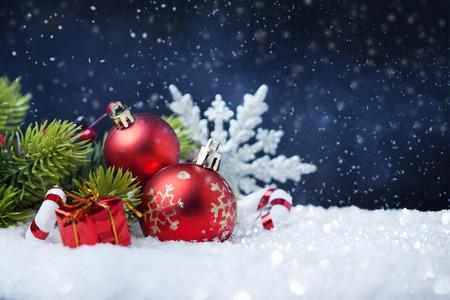 Feliz navidad y próspero año nuevo tarjeta Foto de archivo