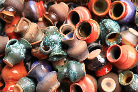 Ceramic jars photo