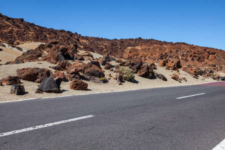 Road in Tenerife, Canary Islands, Spain  photo