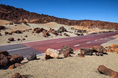 Road in Tenerife , Canary Islands, Spain  photo