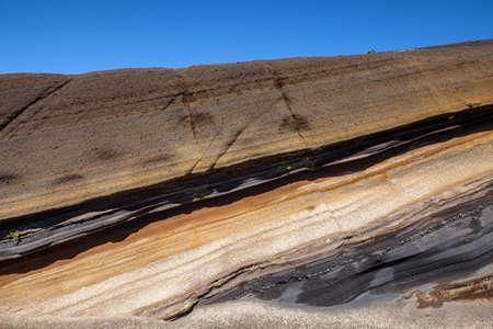Volcanic rocks in Tenerife, Canary Islands, Spain  photo