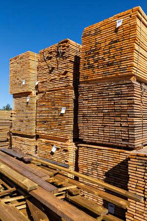 Sawmill Stock Photo
