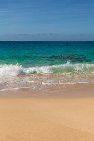 isla: Beautiful tropical paradis beach in Isla Graciosa, Canary Islands, Spain. Stock Photo
