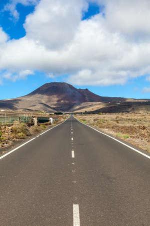 lanzarote: Road in Lanzarote