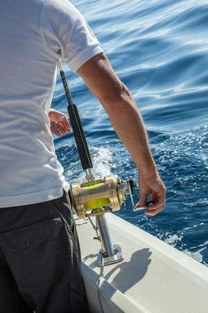 sportfishing: Big game fishing.