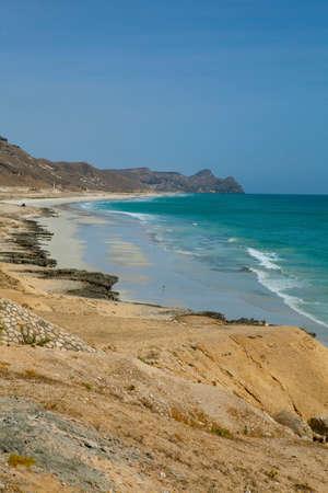 Coastline near Al Mughsayl,  Dhofar, Oman.
