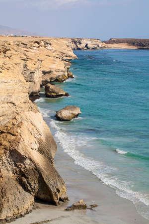 coastline: Coastline of Dhofar, Oman.