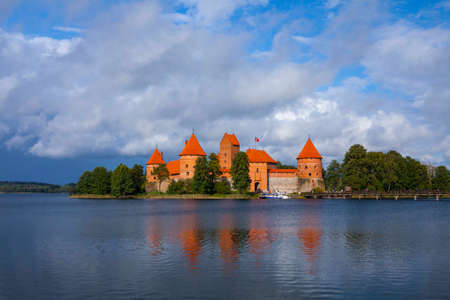 lithuania: Trakai Island Castle, Lithuania Editorial