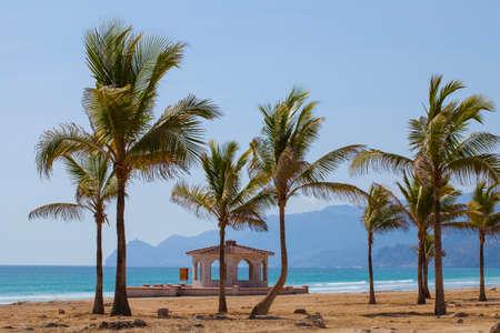 알 Mughsayl, Dhofar, 오만에있는 해변