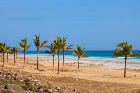 Beach in Al Mughsayl,Dhofar, Oman