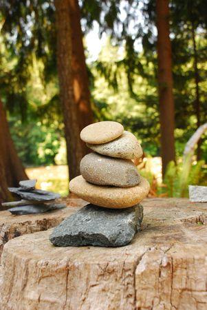 Balanced Stones Stock Photo - 3580525
