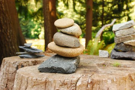 Balanced Stones Stock Photo - 3580526