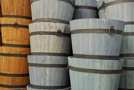 two and a half: Columns of Barrels