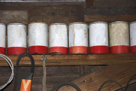 Antique Oil cans