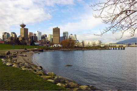 Vancouver looking West from Crab Park photo