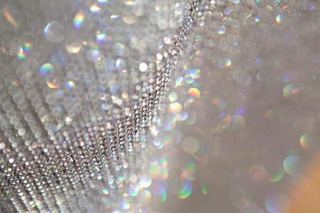 abstract sparkly grey background with focus and defocused zones Reklamní fotografie