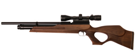 air PCP rifle isolated Stock fotó