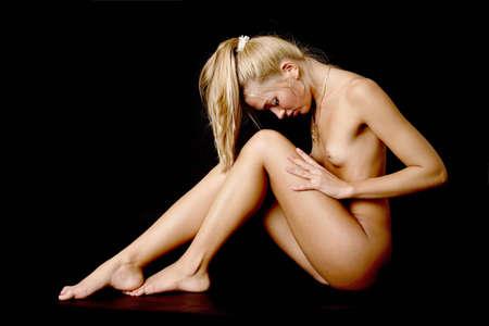 Nude babe  Stock Photo - 14095699