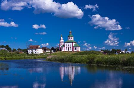 orthodox: Suzdal Central Russia. Orthodox church.