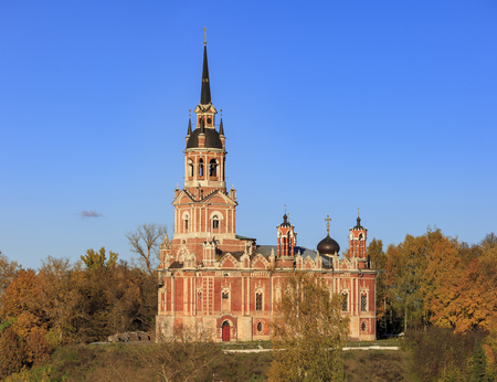 Cathedral of St. Nicholas in Mozhaisk Stock Photo