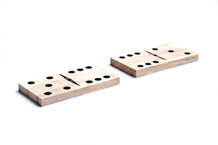 similar: Two domino game pieces