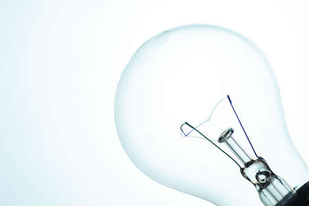 white light bulb photo