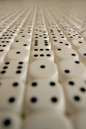 random dice in endless pattern Stock Photo - 275523