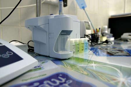 genetica: Attrezzature di laboratorio per testare i prodotti lattiero-caseari