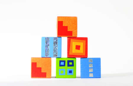 wood blocks Stock Photo
