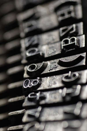 closeup of old typewriter Stock Photo - 326682