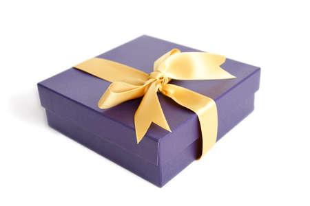 closed ribbon: gift box with ribbon
