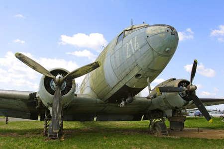 dakota: abandoned Dakota DC3 aircraft Stock Photo