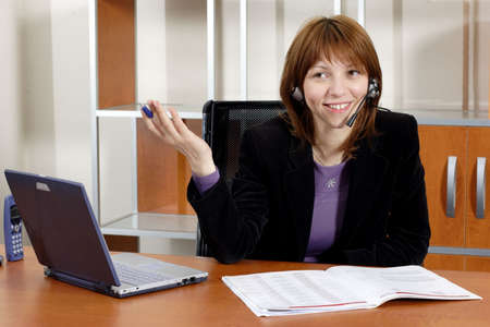 working business woman