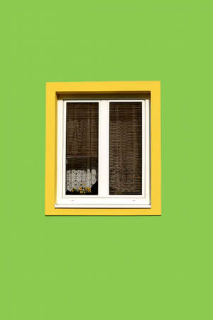 old window Stock Photo - 390460