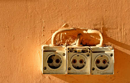 old power socket