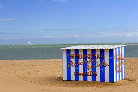 bygone: hut on the beach