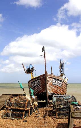 uk fishing boat Stock Photo - 439997