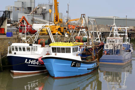 shrimp boat: uk fishing boat