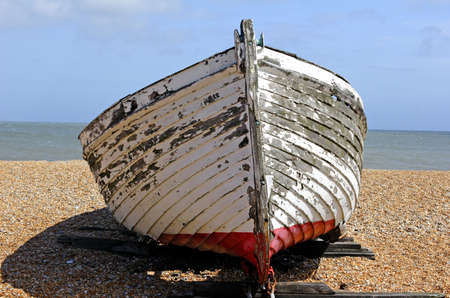 rigger: traditional  boat Stock Photo