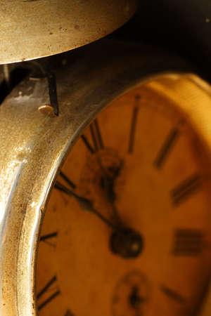 past midnight: old broken clock