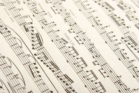 clarinet: Hoja de m�sica cl�sica de madera y de instrumentos de cuerda