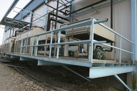 Industrie-Kompressor-Kühlung von der Fabrik  Standard-Bild - 748533