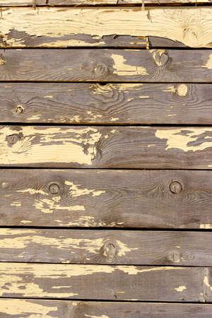 peeling paint: peeling vernice capanna sulla spiaggia, corsica