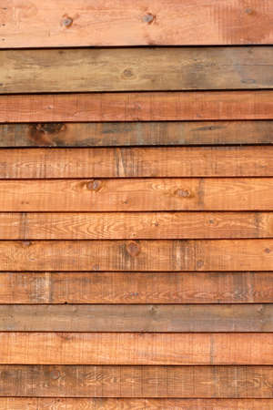 planking: wood planking from beach hut, corsica Stock Photo