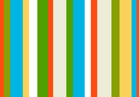 spring colors 1980s striped pattern  Stock Vector - 1951732