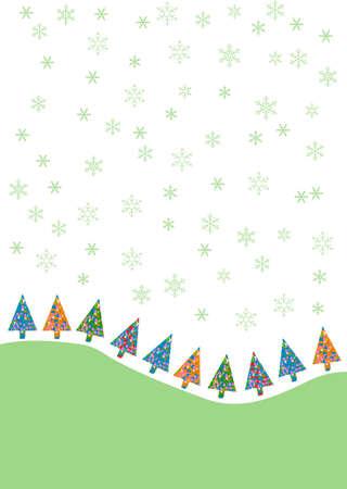 elegant stylized Christmas design illustration Vector